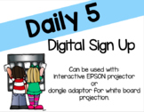 Digital Daily 5 Sign Up
