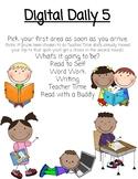 Digital Daily 5 for Upper Grades