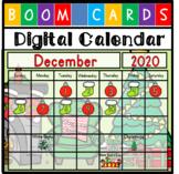 Digital Daily Calendar - December Bundle {Distance Learnin