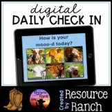 Digital Daily Check In with Google Slides™