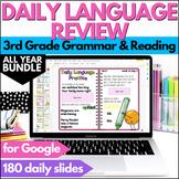 Digital Daily Language Practice BUNDLE for Google Slides 3