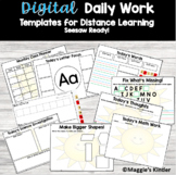 Digital Daily Lesson Activities Seesaw