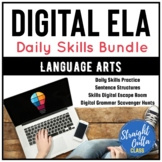 Digital Daily Middle School ELA Skills Resource Bundle   G