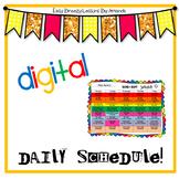 Digital Daily Schedule