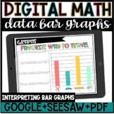 Digital Data: Bar Graph Activity for Google Slides : DISTA