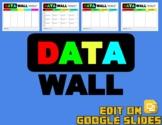 Digital Data Wall (Editable in Google Slides)