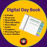 Digital Day Book - Editable