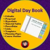 Digital Day Book - Editable