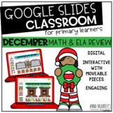 Digital December Math and ELA Review