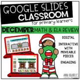 Digital December Math and ELA Review