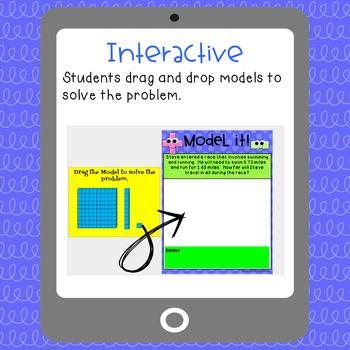 Digital Decimal Sort & Solve ~ Word Problems ~ Google Interactive Activity