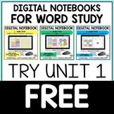 Digital Derivational Relations Spellers Word Study Noteboo