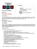 Digital Design 1-3 Syllabus