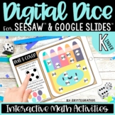 Digital Dice Preloaded Seesaw Activities & Google Slides f