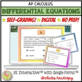 Digital Differential Equations for Google Forms™ Distance