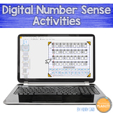 Digital Number Sense Activities Google Drive Microsoft One Drive