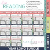 Digital Differentiated Reading Comprehension - YEAR LONG - Distance Learning