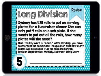 Digital Differentiated Task Cards: Bundle for 4th Grade (GOOGLE)