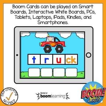Digital Digraph CK Build A Word Boom Card