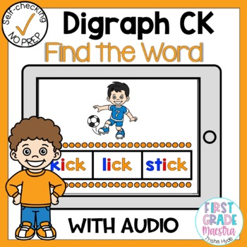 Digital Digraph CK Find the Word Boom Card