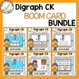 Boom Cards Digraph CK Phonics Bundle