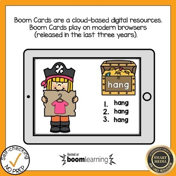 Boom Cards Digraph NG Write the Word