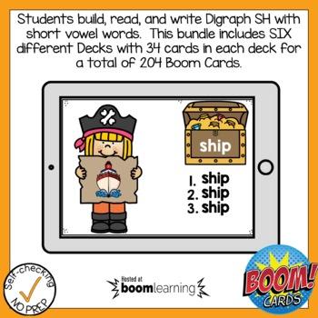 Boom Cards Digraph SH Bundle