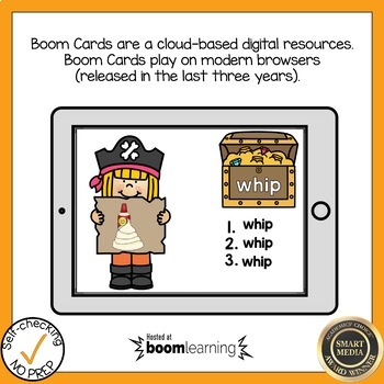 Boom Cards Digraph TH and WH Write the Word Boom Cards