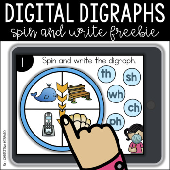 Digital Digraphs: Spin and Write FREEBIE