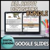 Digital Dinosaur Activities BUNDLE | Digital Learning | Di
