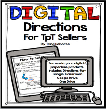 Digital Directions for TpT Sellers