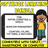No Print Digital Distance Learning  Bundle For Special Edu