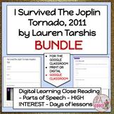Novel Studies I Survived The Joplin Tornado by Lauren Tarshis