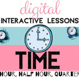 Digital Distance Learning *TELLING TIME* For Google Classr