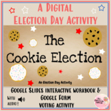 Election Day Mock Voting Activity: Cookie Election: Distance Digital Learning