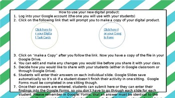 Digital Dividing Fraction Task Cards 5.NF.B7