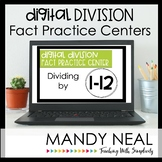 Digital Division Fact Fluency Centers | Distance Learning
