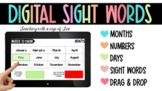 Digital Dolch Sight Words (Drag and Drop Interactive Slides)