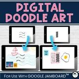 Digital Doodle Art - Drawing for Google Jamboard™ - Distan