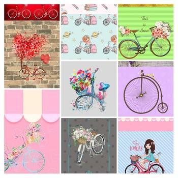 Digital Download Bicycle Paper File