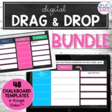*Digital Drag and Drop Templates Bundle | Editable Google Slides