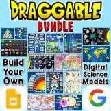 Digital Draggable Science Models Bundle