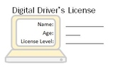 Digital Driver's License Template for use with Avery busin