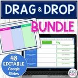 Digital Drag and Drop Templates | Editable Google Slides Bundle