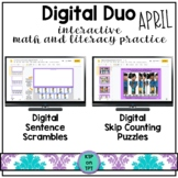 Digital Duo: interactive math and literacy {April version}