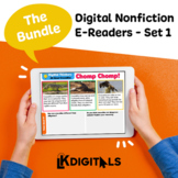 Digital E-Readers Bundle | Distance Learning - Google Slid