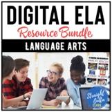 Digital ELA 12 Resource BUNDLE   Google Classroom   Distan