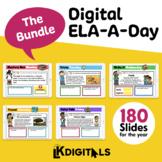 Digital ELA-A-Day Bundle | Google Slides™ & Seesaw™ | BUY-
