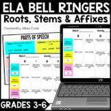 Digital ELA Bell Ringers | Greek and Latin Roots | Google Classroom