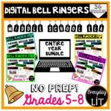 Digital ELA Bell Ringers Middle School Distance Learning